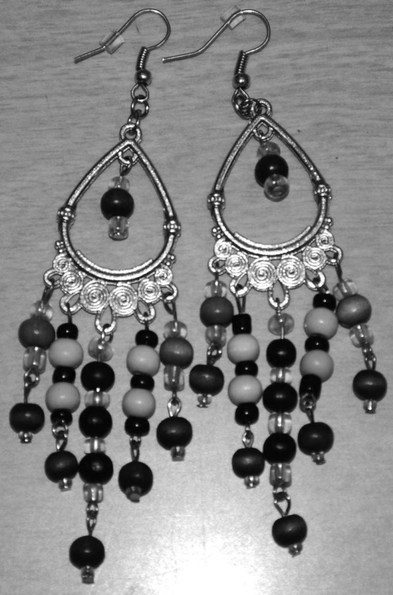 Ear rings made by Selena Goddard