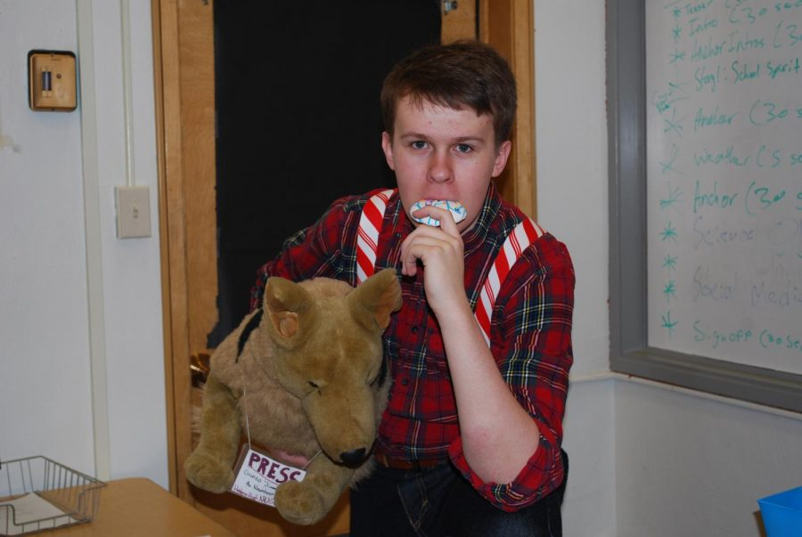If you mixed a candy cane with a lumberjack our editor Declan shows what would happen.