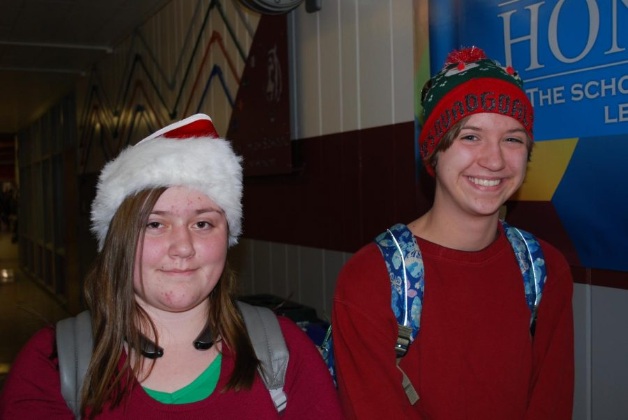Ember and Jorian show their spirit with these festive hats!