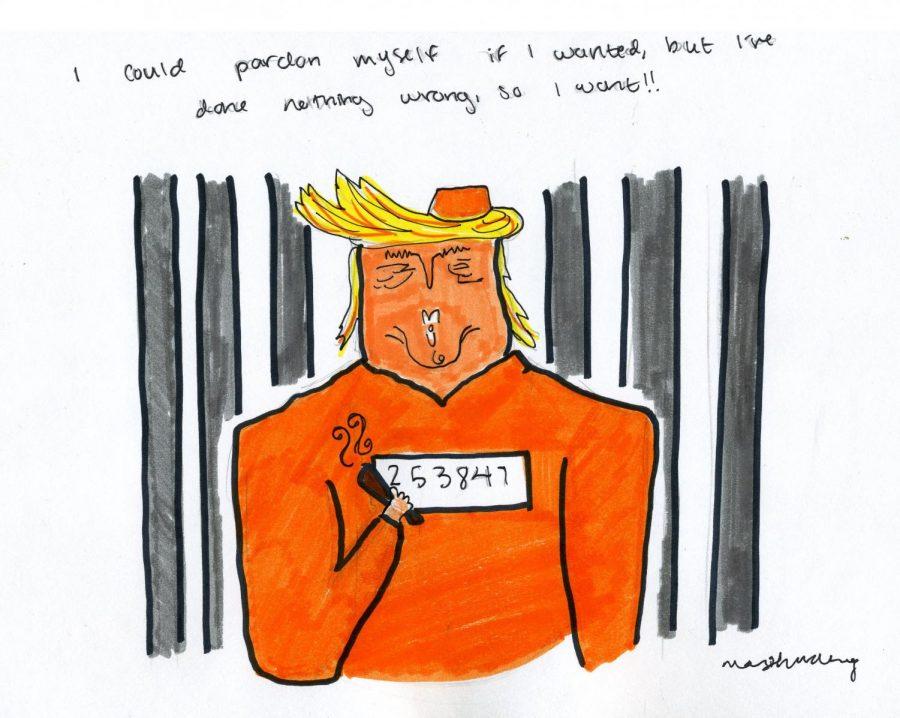 Editorial Cartoon: Presidential Pardon