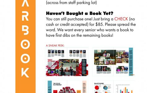 Seniors-Only Yearbook Pick-Up this Friday