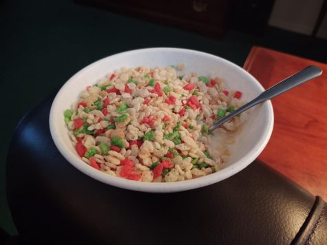 CCC: Rice Krispies with Holiday Colors - Review