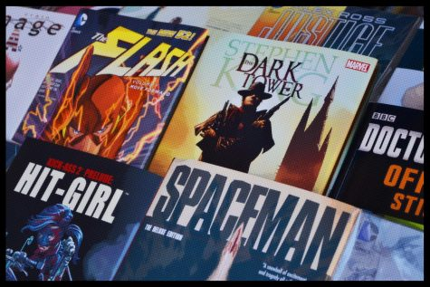 The Dark Tower comic version (middle)